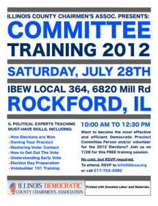Rockford Training Flyer