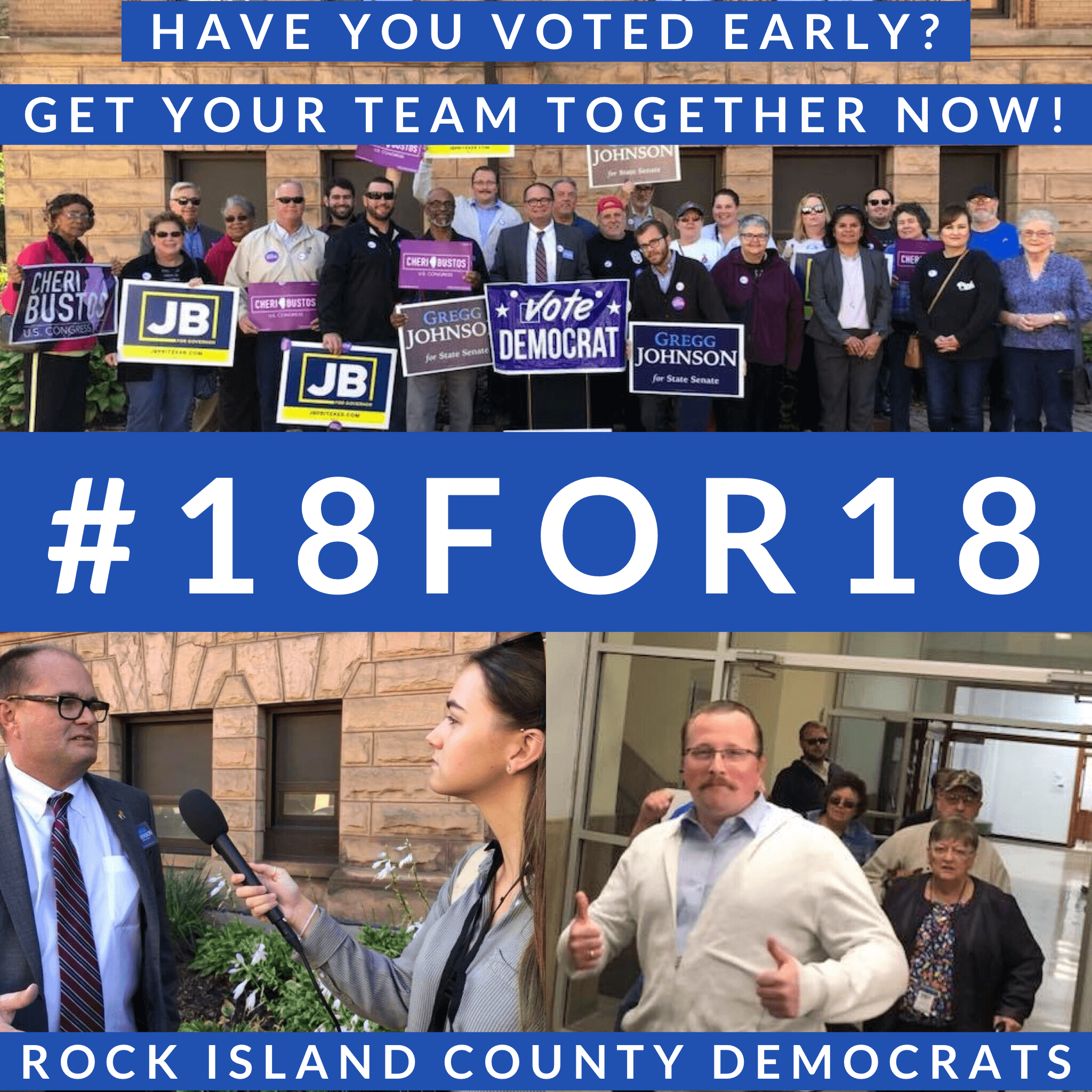 #18FOR18 – An IDCCA Challenge for Early Voting