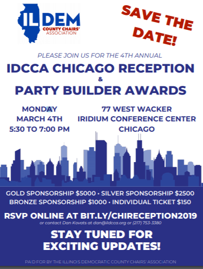 IDCCA Announces 2019 Party Builder Award Recipients