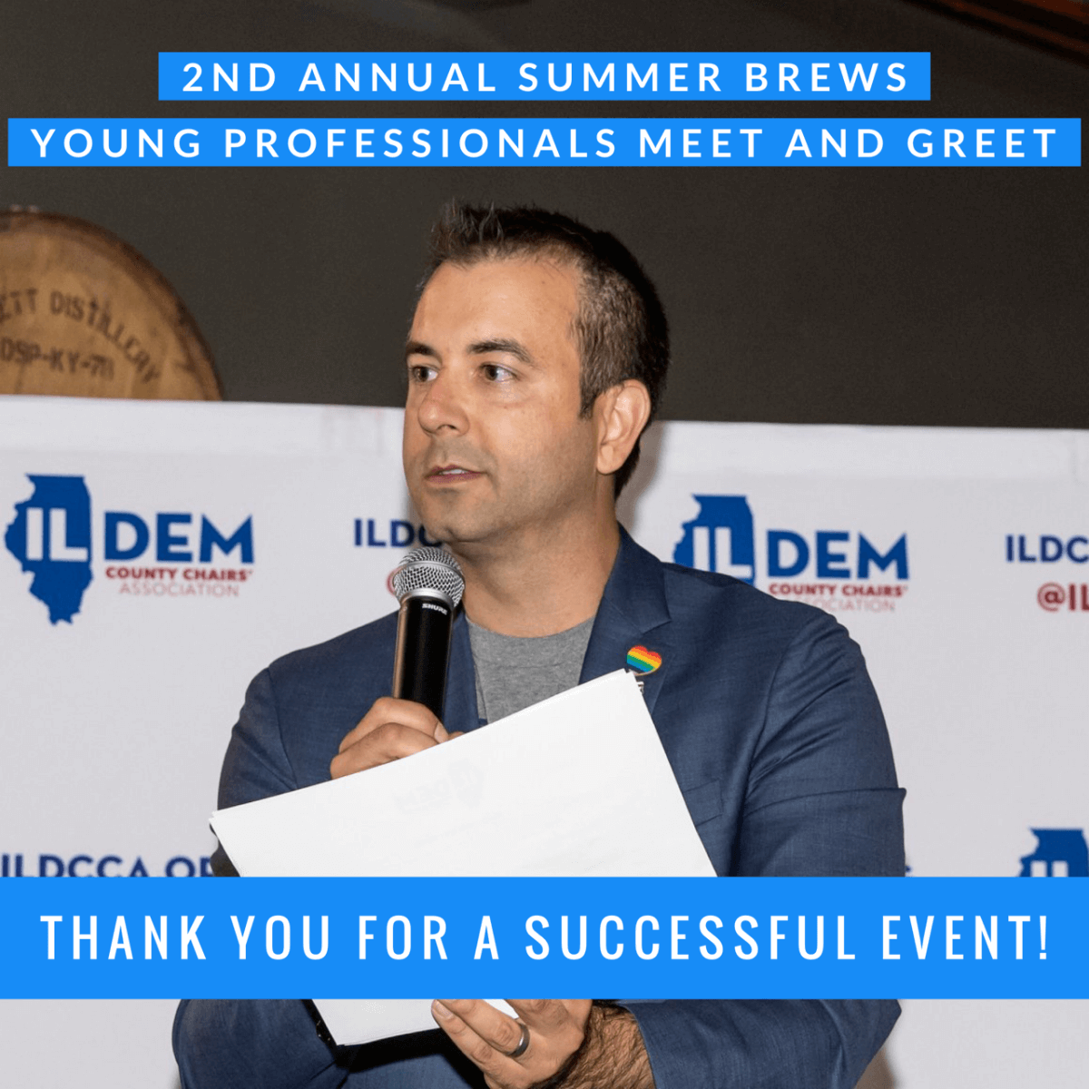 SUMMER BREWS TO HELP GET DEMOCRATS ELECTED