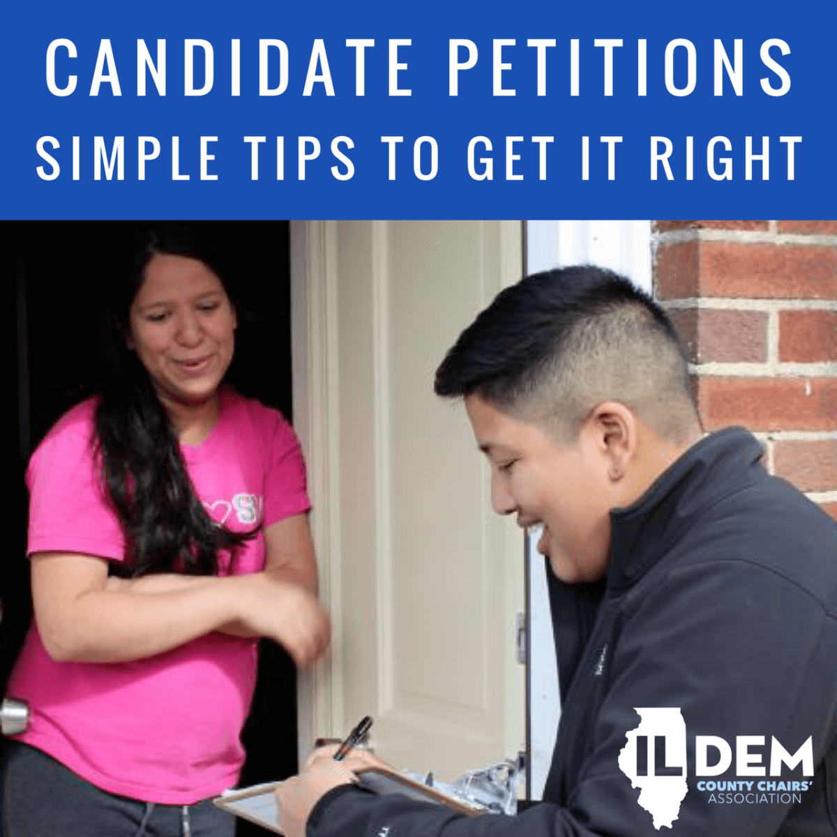 CANDIDATE PETITIONS, SIMPLE TIPS TO GET IT RIGHT