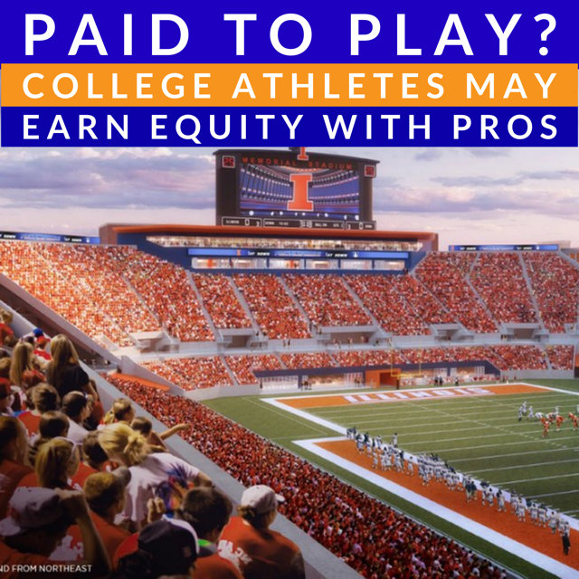 COLLEGIATE ATHLETICS IS BIG BUSINESS, ALLOW STUDENT ATHLETES TO SHARE THE WEALTH