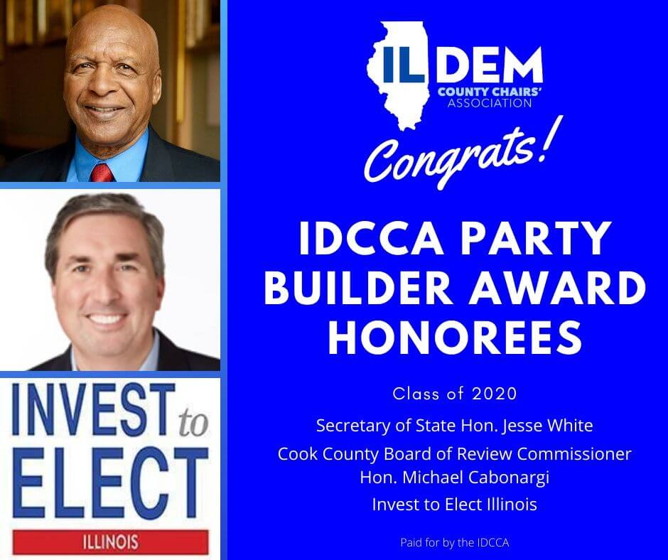 Dem County Chairs Announce 2020 Party Builder Award Honorees