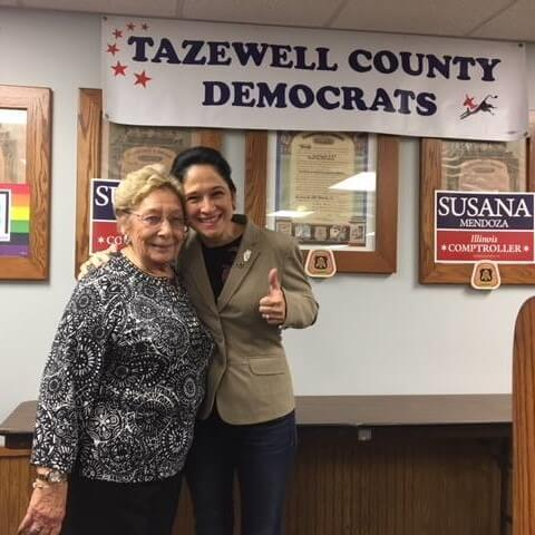 STATEMENT REGARDING THE PASSING OF FORMER TAZEWELL COUNTY DEM CHAIR SHIRLEY HOUGHTON