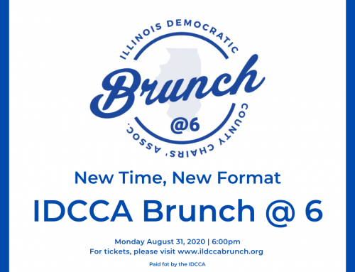 DEM COUNTY CHAIRS ANNOUNCE BRUNCH @ 6