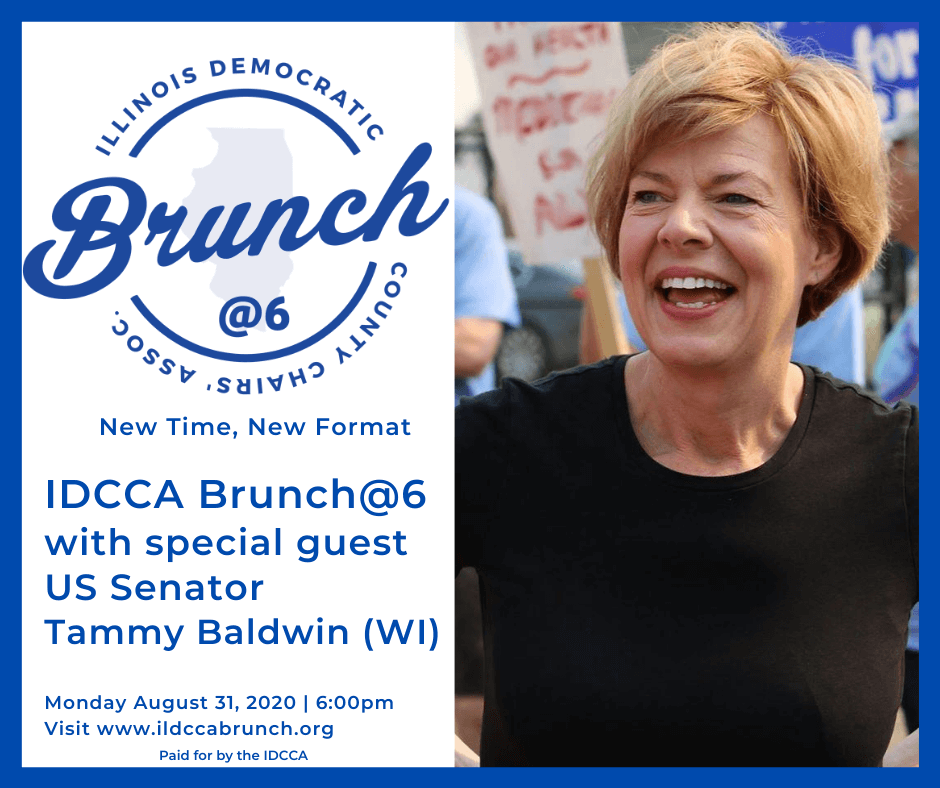 BALDWIN TO JOIN BOOKER AS IDCCA BRUNCH @ 6 HEADLINER
