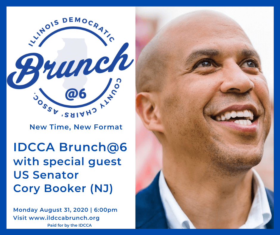 CORY BOOKER TO HEADLINE IDCCA BRUNCH @ 6