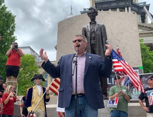 Extremist Darren Bailey announces bid for Governor