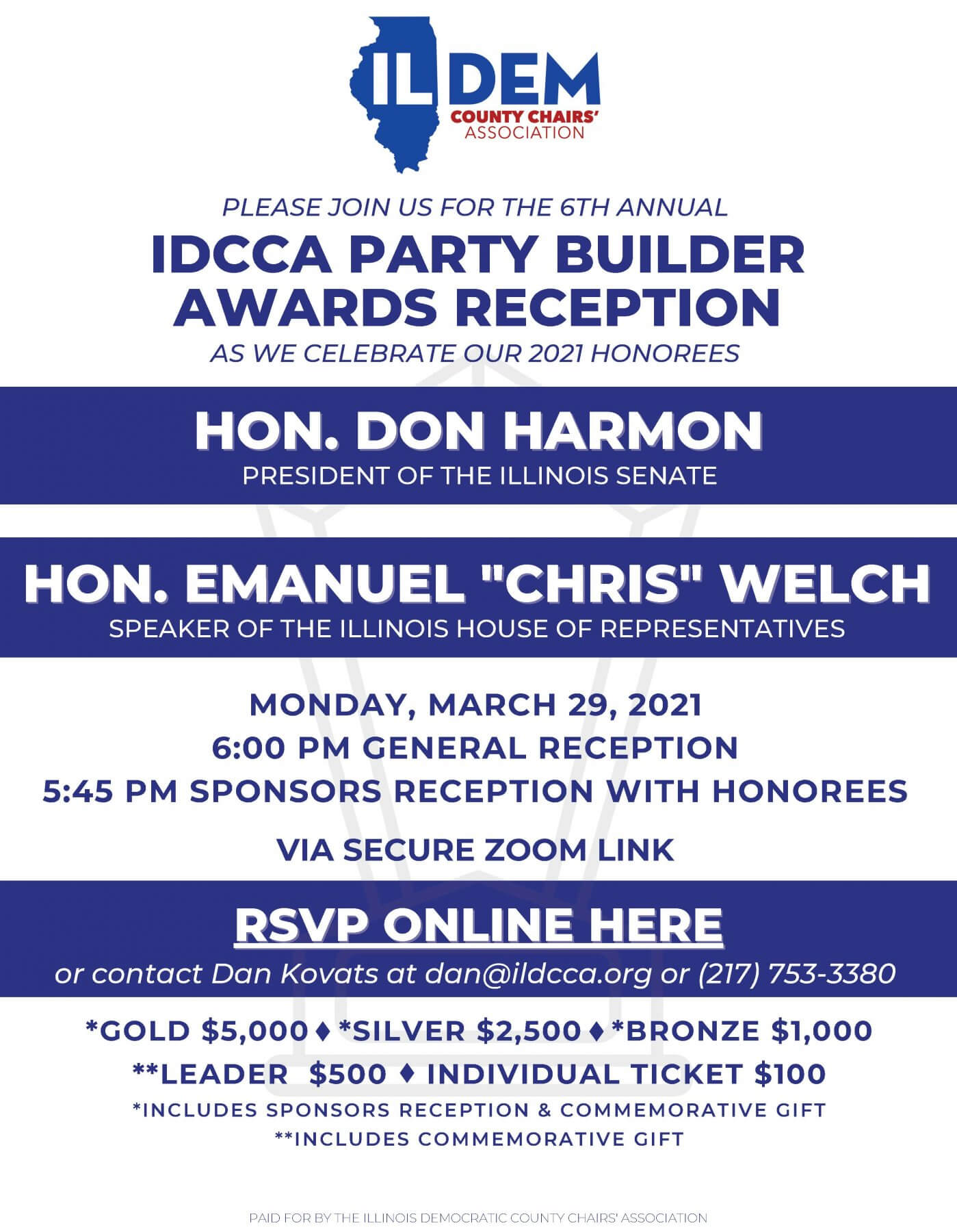 2021 IDCCA Party Builder Awards
