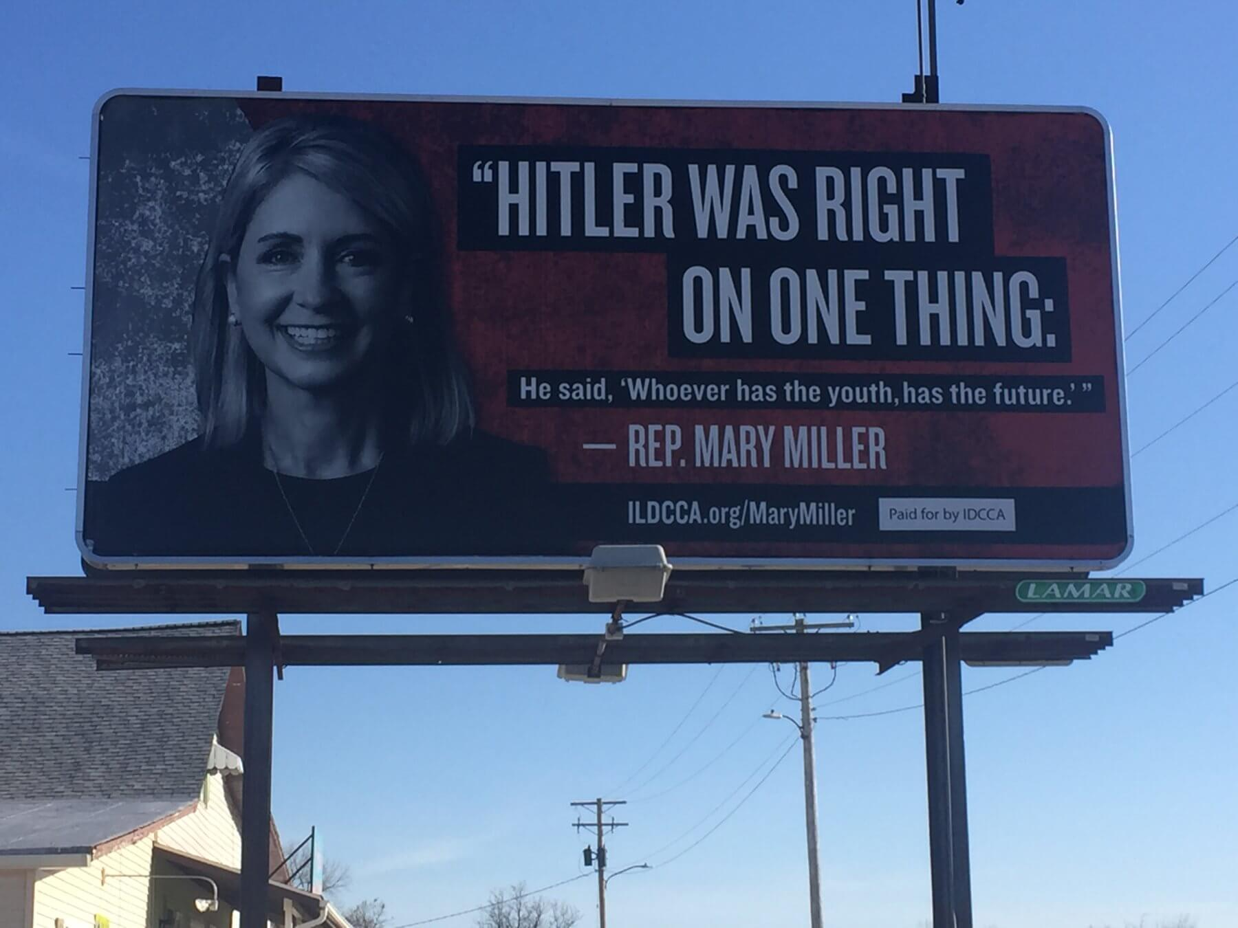 Statement: New Billboard to Hold Congresswoman Mary Miller Accountable