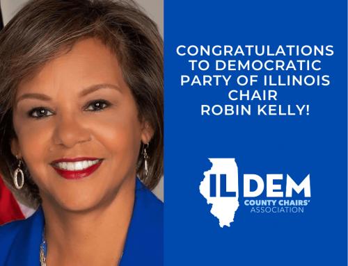 Dem County Chairs' Congratulate New DPI Chair Robin Kelly