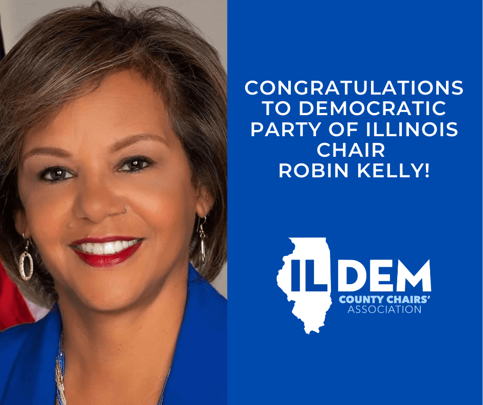 Dem County Chairs' Congratulate New DPI Chair Robin Kelly