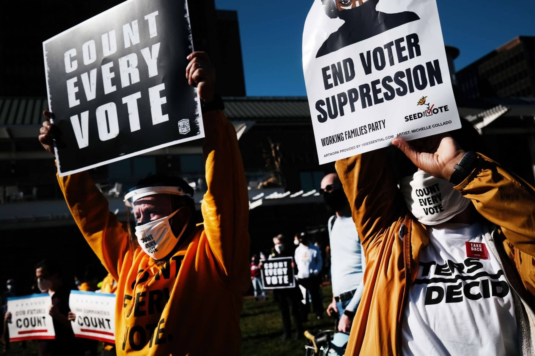 Georgia Voter Suppression A Warning to Country